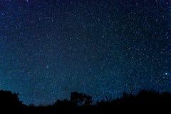 Gwiazdy na niebie obraz royalty free
