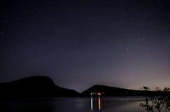 Gwiazdy Nad górą Fotografia Stock