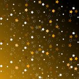 Gwiazdy odizolowywać na tle Confetti świętowanie Spada gwiazd abstrakcjonistyczna dekoracja dla przyjęcia, urodziny świętuje, roc royalty ilustracja