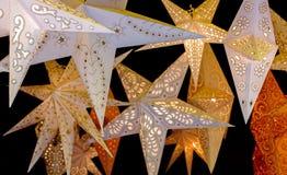 Gwiazdy papier Fotografia Stock