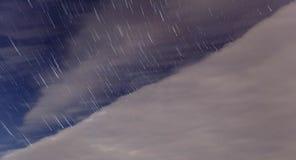 Gwiazdy spotkania chmury Zdjęcia Royalty Free