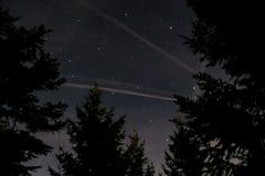 Gwiazdy w Francja alps Fotografia Stock