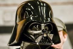Gwiezdna wojna charaktery na komicznej przeciw konwenci zdjęcia royalty free