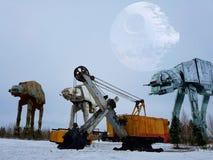 gwiezdne wojny zdjęcie stock