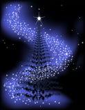 gwiezdny drzewo Obrazy Royalty Free