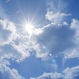 gwiezdny słońce Fotografia Stock