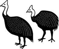 Gwinei ptactwa ilustracja wektor