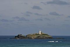 Gwithian, baia della st Ives, Cornovaglia, Inghilterra Fotografia Stock Libera da Diritti