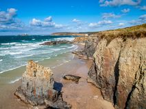 Gwithian Cornwall Engeland stock fotografie