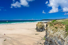 Gwithian Cornwall Engeland het UK Royalty-vrije Stock Foto