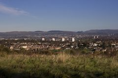 A panoramic view of Paisley