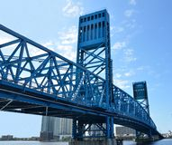główna Jacksonville bridżowa ulica s Fotografia Stock