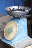 Gwoździe na skala w Afryka Zdjęcie Stock