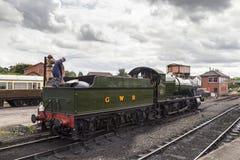 GWR 2857 Ciężka Towarowa Parowa lokomotywa Obraz Royalty Free