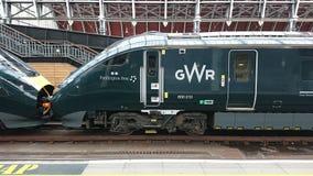 Gwr Paddington pociąg ekspresowy obrazy stock