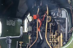 GWR 2857 Parowej lokomotywy Ciężkie Towarowe kontrola Obrazy Stock