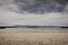 A beautiful beach on the west coast of Scotland. royalty free stock photo