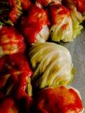 Gwumkies w kumberlandzie przygotowywającym dla piekarnika zdjęcia stock