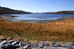 威尔士- Gwynedd - Bala湖 库存图片