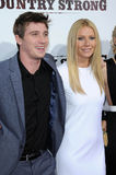 Gwyneth Paltrow,Garrett Hedlund Royalty Free Stock Photos