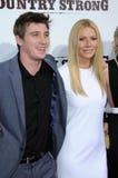 Gwyneth Paltrow,Garrett Hedlund Royalty Free Stock Photos