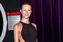 Gwyneth Paltrow-Wachsfigur, Amsterdam Madame-Tussauds lizenzfreie stockfotografie