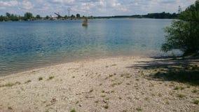 GyÅ-` rújfalu See im Sommer Stockfoto