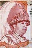 Gyanendra of Nepal. Gyanendra Bir Bikram Shah Devl (born 1947) on 5 Rupees 2005 Banknote from Nepal. King of Nepal during 1950–1951 and 2001–2008 Royalty Free Stock Images
