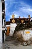 Gyantse Kloster Stockbilder