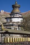 gyantse kumbum西藏 免版税库存照片