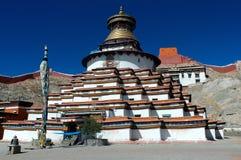 gyantse kumbum西藏 库存照片