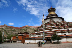 Gyantse Kumbum chorten Stock Photography