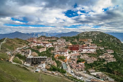 Gyantse Monastery near Lhasa Stock Photography
