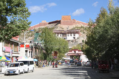Gyantse, old city Stock Photography