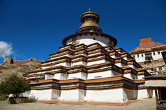 gyantse palcho μοναστηριών kumbum Στοκ εικόνες με δικαίωμα ελεύθερης χρήσης