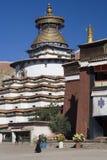 gyantsekumbum tibet Arkivbilder