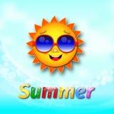 Gyckel för sommartid royaltyfri illustrationer