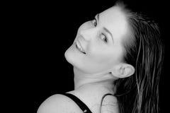 gyckel har kvinnan Fotografering för Bildbyråer