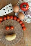 Gyckel i köket Royaltyfri Fotografi