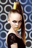 Gyckel i mode Fotografering för Bildbyråer