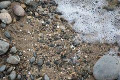Gyckel på stranden Fotografering för Bildbyråer