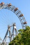 Gyckel parkerar Ferris Wheel In Vienna Prater som gyckel parkerar Royaltyfri Bild
