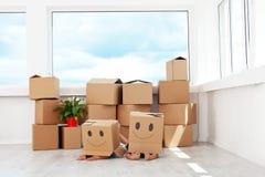 gyckel som har home flytta sig för ungar som är nytt Royaltyfri Foto