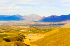 Gydo Pass between Ceres and Citrusdal, Western Cape in South Afr Stock Photography