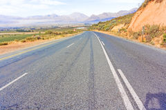 Gydo Pass between Ceres and Citrusdal, Western Cape in South Afr Stock Photos