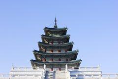 Gyeonbokgung, het Nationale Museum van het Paleis, Zuid-Korea Royalty-vrije Stock Afbeelding