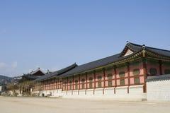 gyeonbokgung Korea muzealni krajowi pałac południe obraz royalty free