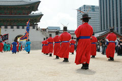 Gyeonbokgung, National Palace Museum, South Korea Royalty Free Stock Images
