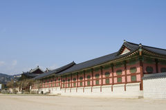 Gyeonbokgung, National Palace Museum, South Korea Royalty Free Stock Image