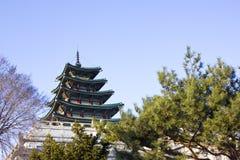 Gyeonbokgung, National Palace Museum, South Korea Royalty Free Stock Images